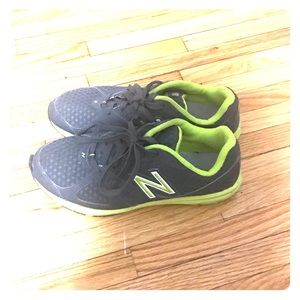 Gray New Balance women's running shoes size 9